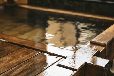 湯船のお水